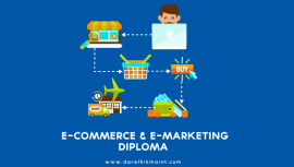 marketing, diploma; course; e-commerce